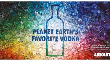 Absolut Planet Earth Vodka Color